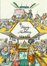 Cartoon: Conference (small) by GB tagged congress,conferenc,meeting,konfernz,tagung,treffen,sitzung,bar,nachtleben,sause,feier,abend,entspannung,teilnehmer,manager,theke,kneipe