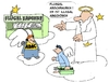 Cartoon: ADAC (small) by Retlaw tagged machtmißbrauch