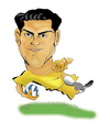 Cartoon: Casillas (small) by guillelorentzen tagged casillas,cartoon