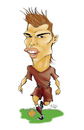 Cartoon: Cristiano Ronaldo (small) by guillelorentzen tagged cristiano,ronaldo,cartoon