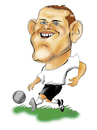 Cartoon: Rooney (small) by guillelorentzen tagged rooney