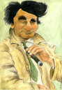 Cartoon: Columbo (small) by Mario Schuster tagged karikatur,cartoon,mario,schuster,columbo,peter,falk