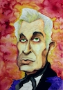 Cartoon: Vincent Price (small) by Mario Schuster tagged vincent,price,mario,schuster,karikatur,cartoon