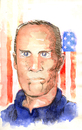 Cartoon: Bob Bradley (small) by Thomas Berthelon tagged berthelon,thomas,worldcup,world,cup,2010,mondial,ronaldo,football,bradley
