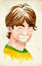 Cartoon: Kaka (small) by Thomas Berthelon tagged berthelon,thomas,worldcup,world,cup,2010,mondial,football,kaka