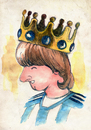 Cartoon: Lionel Messi (small) by Thomas Berthelon tagged berthelon,thomas,messi,worldcup,world,cup,2010,football,sport