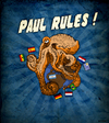 Cartoon: Paul Rules ! (small) by Thomas Berthelon tagged berthelon,thomas,worldcup,world,cup,2010,mondial,football,paul,octopus