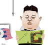 Cartoon: Kim Jong Un (small) by Valbuena tagged kim,jong,un,illustration,karikatur,art,caricature,old