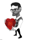 Cartoon: Mayer Hawthorne (small) by Valbuena tagged caricature,mayerhawthorne,music,art,new,illustration