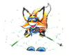 Cartoon: Sammie Powder (small) by karlwimer tagged ski,fox,powder,charity
