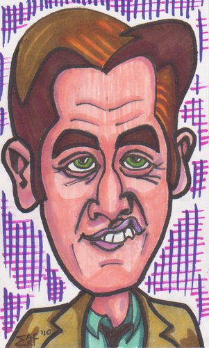 Cartoon: GQ Jake Gyllenhaal (medium) by Tzod Earf tagged caricature,jake,gyllenhaal,gq