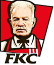 Cartoon: Rev Terry Jones Caricature (small) by Tzod Earf tagged rev,terry,jones,kentucky,fried,chicken