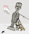 Cartoon: Spring in Syria (small) by Ballner tagged assad syria russia