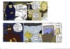 Cartoon: comix on comix (small) by marco petrella tagged comix