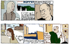 Cartoon: hopper catalogue (small) by marco petrella tagged edwardhopper