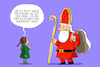 Cartoon: klimaneutraler nikolaus (small) by leopold maurer tagged nikolaus,klima,neutral,kind,greta,thunberg