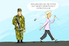 Cartoon: von der leyen handydaten (small) by leopold maurer tagged handydaten,leyen