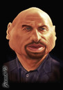 Cartoon: John Travolta (small) by Jiwenk tagged john,travolta