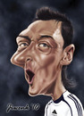 Cartoon: Mesut Ozil (small) by Jiwenk tagged mesut ozil