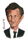Cartoon: Sean Penn (small) by Jiwenk tagged sean,penn
