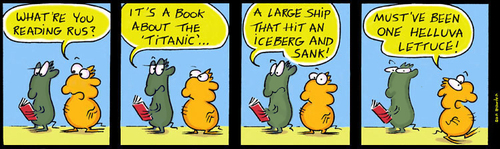 Cartoon: Urban Gerbils (medium) by Danno tagged comic,strip,cartoon,humor,funny,traditional,art