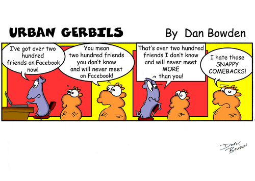 Cartoon: URBAN GERBILS. Facebook (medium) by Danno tagged humor,published,weekly,newspapers,funny,strip,comic,cartoon,gerbils,urban