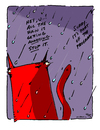Cartoon: All the Rain - Yo and Dude (small) by ericHews tagged rain,stop,annoying,program