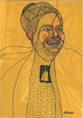 Cartoon: Umm Kulthum2 (small) by omar seddek mostafa tagged umm,kulthum