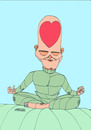 Cartoon: Yoga 3 (small) by omar seddek mostafa tagged yoga