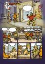 Cartoon: La Troupe Pag1Chap2 (small) by Aleix tagged comic aleix graffiti manga la troupe panini montana colors