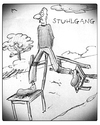 Cartoon: Stuhlgang (small) by timfuzius tagged stuhlgang,wc,toilette,spazieren,stuhl