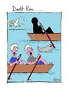 Cartoon: Death Row (small) by Kerina Strevens tagged death,row,boat,water,fear,scream,die,dead