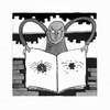 Cartoon: Spider Man (small) by Kerina Strevens tagged spider,crush,book,cruel,black,humour,fun