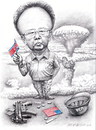 Cartoon: Kim Jong Il (small) by an yong chen tagged 201011