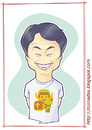 Cartoon: Shigeru Miyamoto (small) by Freelah tagged nintendo,mario,bros,donkey,kong,the,legend,of,zelda,star,fox,zero