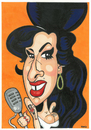 Cartoon: Amy Winehouse (small) by Ca11an tagged amy,winehouse,caricature