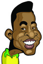 Cartoon: Pele (small) by Ca11an tagged pele caricature world cup legends