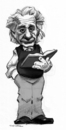 Cartoon: Albert Einstein (small) by r8r tagged albert,einstein,caricature,cartoon,physics,relativity,space,time,science,scientific