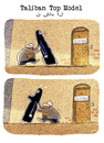 Cartoon: ... (small) by markus-grolik tagged sexismus,burka,silicon,schönheitsoperation,ideal,schönheitsideal,mann,frau,muslim,macho,cartoon,grolik