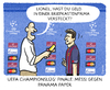 Cartoon: ... (small) by markus-grolik tagged panama,papers,steuerhinterziehung,champions,league,fussball,uefa,fifa,mossack,fonseca,briefkastenfirma,kapital,jersey,geld,geldwäsche,schwarzgeld,spitzensport,barcelona,real,madrid,lionel,messi,interview,fernsehrechte,blatter,platini,grolik