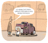 Cartoon: ...Auto-Industrie... (small) by markus-grolik tagged suv,co2klima,klimawandel,umwelt,verkehr,dienstwagen,verbrauch,wut,dieselverbot,monstertruck,fahrverbot