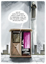 Cartoon: Closer to heaven... (small) by markus-grolik tagged kirche service dienstleistung beichte religion gott hotline qualitätssicherung telefon kredit kommunikation cartoon grolik