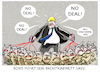 Cartoon: ...hardliner... (small) by markus-grolik tagged boris,johnson,kabinett,brexit,london,europa,premierminister,eu,austritt,austrittsverhandlungen,england,bruessel,corbyn,minister,brexiteers,hardliner,ernennung,bluthunde,gegner