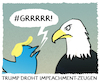 Cartoon: PRESIDENTIAL HARASSMENT! (small) by markus-grolik tagged president,praesident,unitedstates,vereinigte,staaten,verfassungwerte,demokrate,amtsmissbrauch,amtsenthebungsverfahren,republikaner,ukraine,affaere,unkrainegate