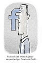 Cartoon: Profil-Profi (small) by markus-grolik tagged facebook,zuckerberg,social,media,twitter,persönlichkeit,gruppenzwang,individualismus,gleichschaltung,austausch,grolik,pc,internet,webmarkus,cartoon
