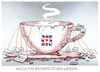 Cartoon: ...tea-time... (small) by markus-grolik tagged brexit,brexiteer,theresa,may,backstop,klausel,london,irland,europa,corbin
