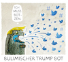 Cartoon: ...Twitter... (small) by markus-grolik tagged tweed,hashtag,trump,manipulation,twitter,hacker,putin,vladimir,donald,internet,social,media,usa,wahlkampf,us,wahlen,clinton,republikaner,tv,bot,bots,troll