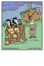 Cartoon: Cheaters (small) by Juan Carlos Partidas tagged ark,noah,animal,zebra,gorilla,flood,bible,old,testament,genesis