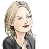 Cartoon: Michelle Pfeiffer Portrait (small) by condemned2love tagged michelle,pfeiffer,caricature,portrait