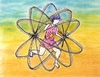 Cartoon: Playing with Atomic Energy (small) by trebortoonut tagged atomic,energy,play,children,brincadeira